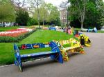 parkwithnicelypaintedbenches
